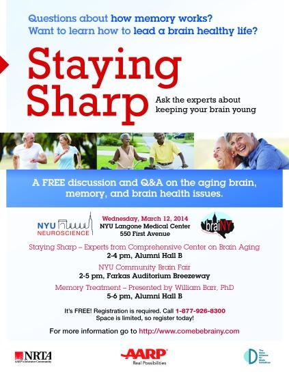 StayingSharpFlier_NYU2014