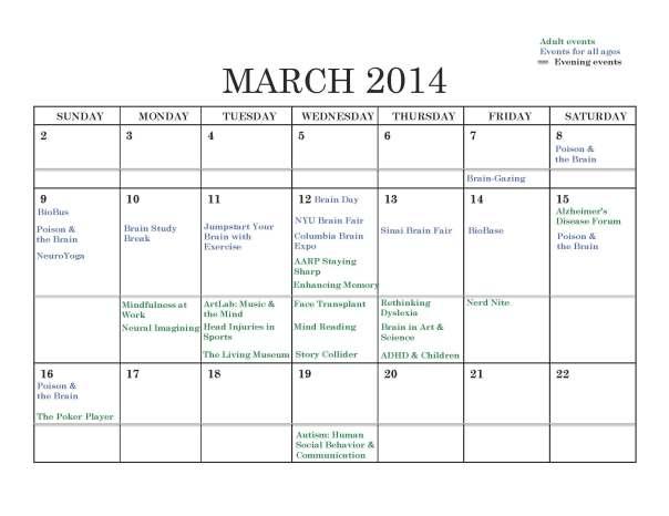 Calendar BAW 2014 Mar